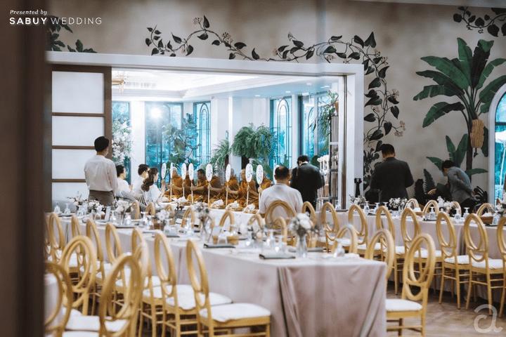 รีวิวงานแต่ง Greenery Style ในสถานที่ Unique ใจกลางเมือง @ The Botanical House Bangkok