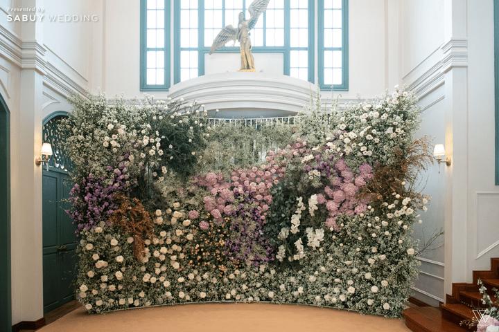 ตกแต่งงานแต่งงาน รีวิวงานแต่งธีมโคโลเนียล ตกแต่ง Unique สวยพีคได้ใจแขก @ Villa De Bua