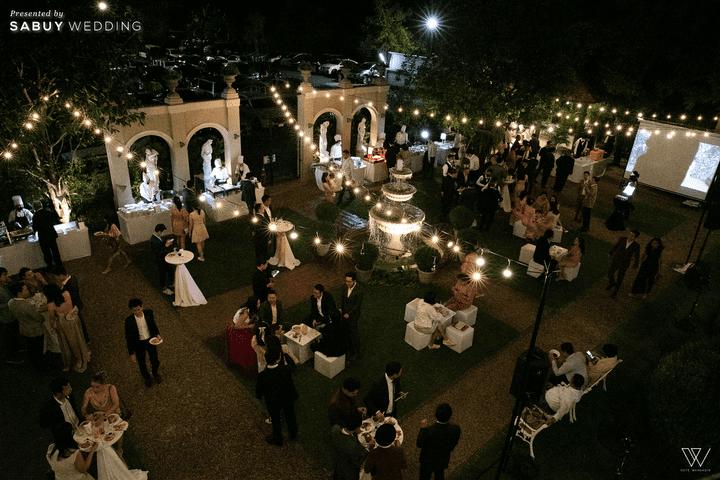 สถานที่แต่งงาน รีวิวงานแต่งธีมโคโลเนียล ตกแต่ง Unique สวยพีคได้ใจแขก @ Villa De Bua