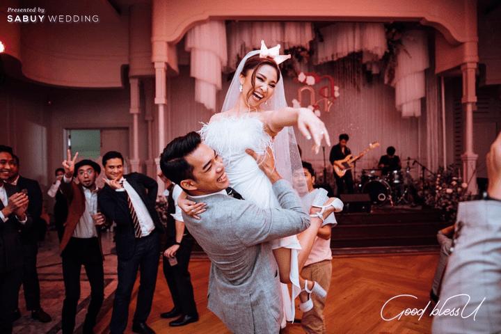อาฟเตอร์ปาร์ตี้ รีวิวงานแต่งธีมโคโลเนียล ตกแต่ง Unique สวยพีคได้ใจแขก @ Villa De Bua