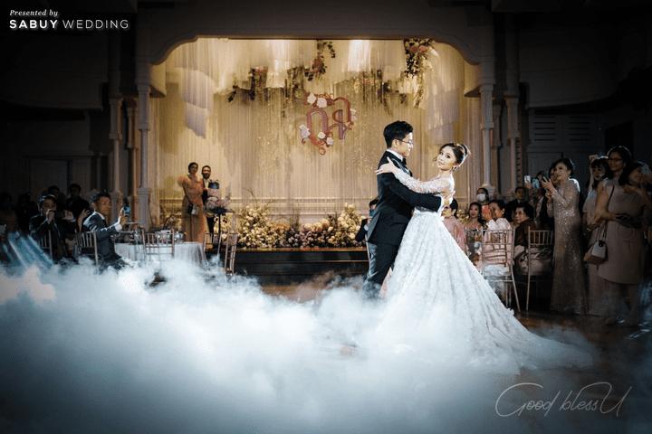 งานแต่งงาน รีวิวงานแต่งธีมโคโลเนียล ตกแต่ง Unique สวยพีคได้ใจแขก @ Villa De Bua