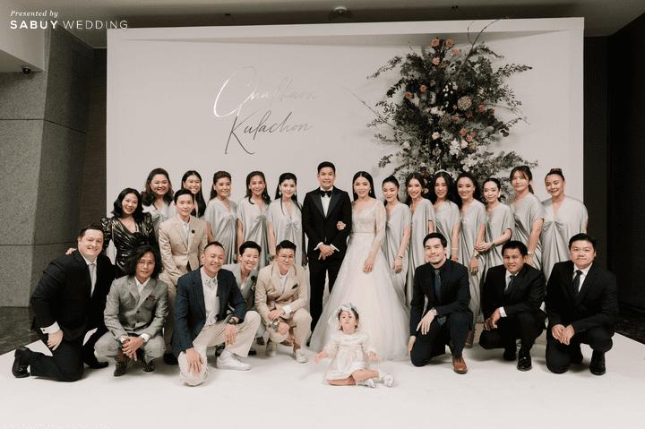 รีวิวงานแต่งธีมสี Off White เรียบเก๋ Luxury!! @The Okura Prestige Bangkok