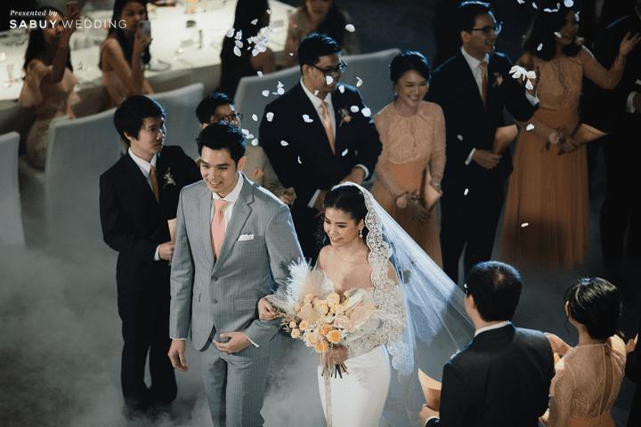 รีวิวงานแต่งสวย Classy  เปิดตัวด้วยฟลอร์เต้นรำสุดโรแมนติก @ Park Hyatt Bangkok