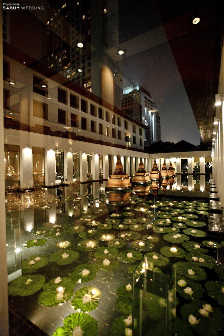 The Sukhothai Bangkok สถานที่แต่งงานสไตล์ไทยโมเดิร์น พร้อมสวนสวยร่มรื่นดั่งโอเอซิสใจกลางกรุง