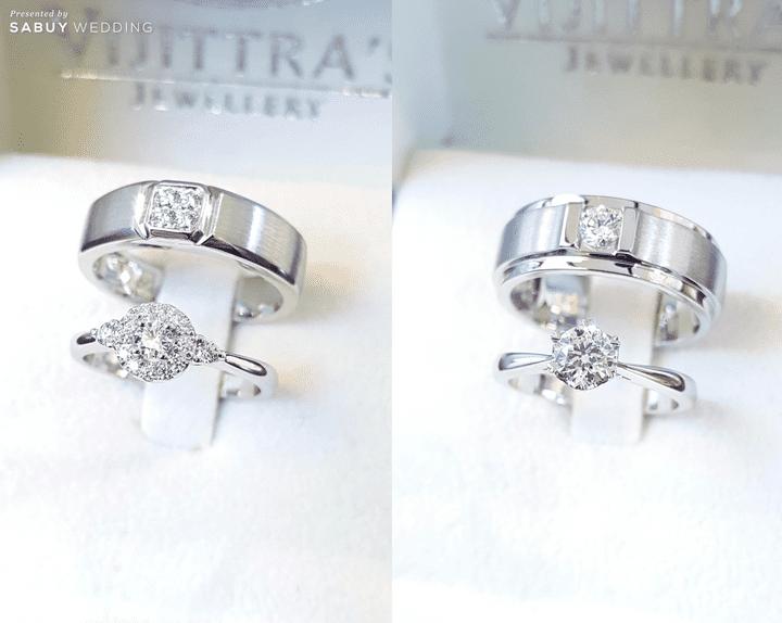 แหวนคู่ Heart and Arrow ในราคาสุดคุ้ม เริ่มต้นเพียง 29,900 บาท @ Vijittra's Jewellery