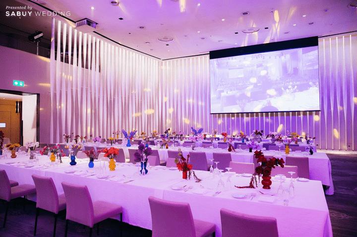 รีวิวงานแต่งสวยสดใส สไตล์ Colorful @ Park Hyatt Bangkok