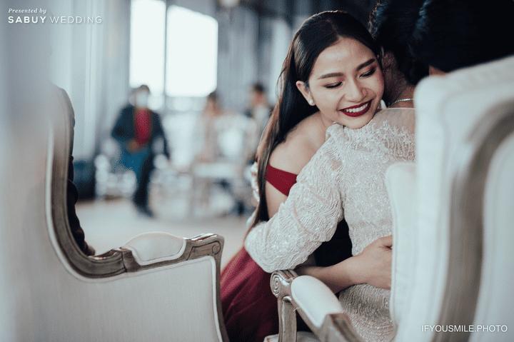 งานแต่งงาน,ชุดแต่งงาน รีวิวงานแต่งสวยโรแมนติกกับกิมมิคห้องวิวทะเล @ Hilton Pattaya