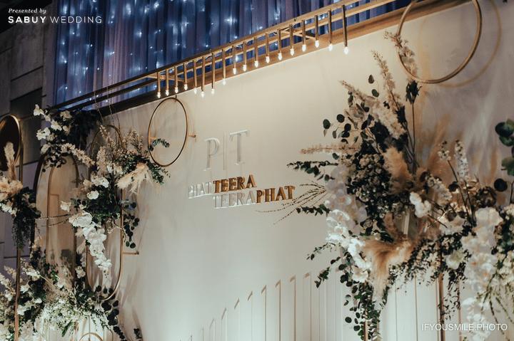 ตกแต่งงานแต่งงาน รีวิวงานแต่งสวยโรแมนติกกับกิมมิคห้องวิวทะเล @ Hilton Pattaya