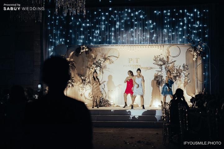 งานแต่งงาน รีวิวงานแต่งสวยโรแมนติกกับกิมมิคห้องวิวทะเล @ Hilton Pattaya