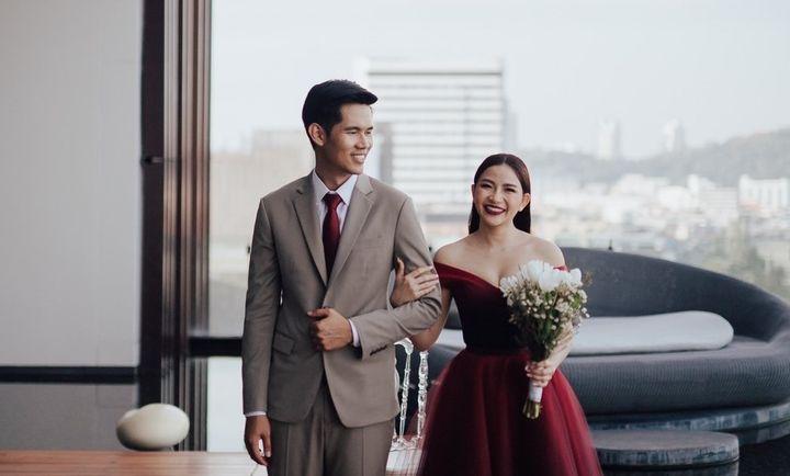 รีวิวงานแต่งสวยโรแมนติกกับกิมมิคห้องวิวทะเล @ Hilton Pattaya