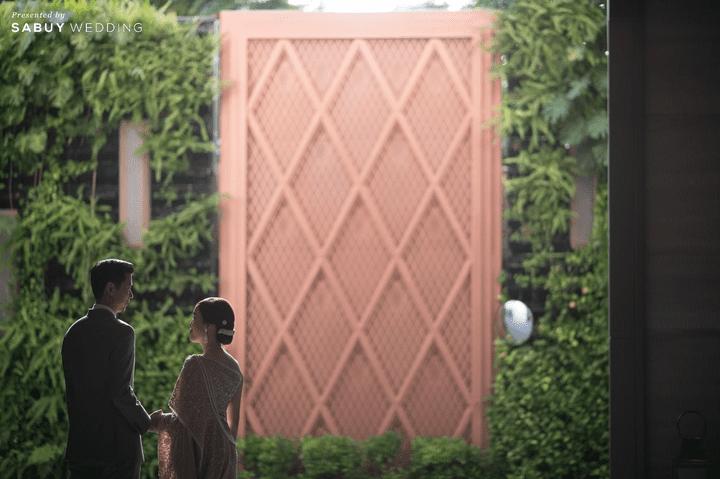 รีวิวงานแต่งธีมสี Earth Tone สวยชิค ในสถานที่แห่งใหม่ สไตล์โมเดิร์น @ Rosewood Bangkok