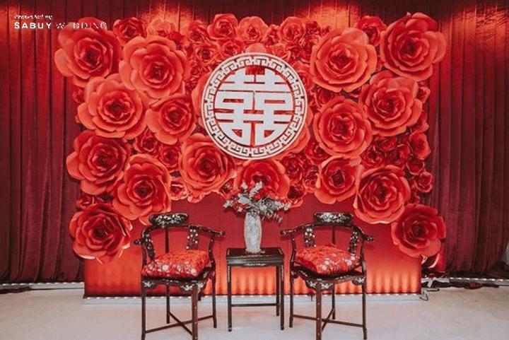 รวม 20 Decoration งานแต่งสไตล์จีนโมเดิร์นสุดเก๋!!