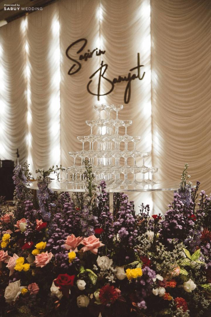 รีวิวงานแต่ง Stay Classy and Be Our Colorful Flowers @ The Peninsula Bangkok