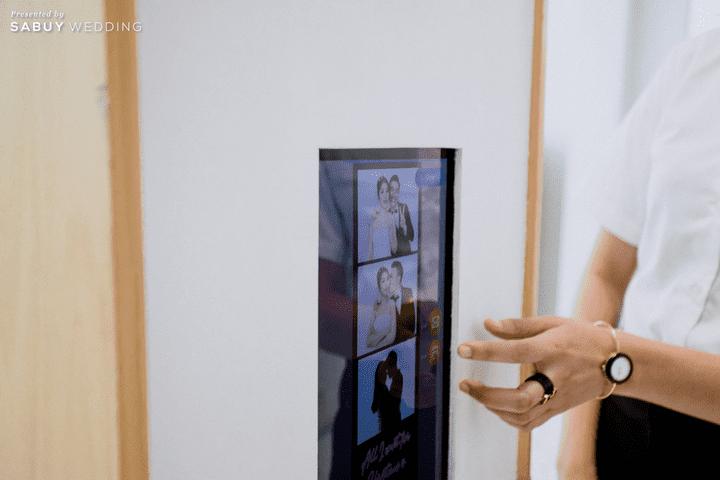 photobooth รีวิวงานแต่งชมพูเทาสวยดูดี พร้อมวิธีเอนเตอร์เทนแขก @ AUBE