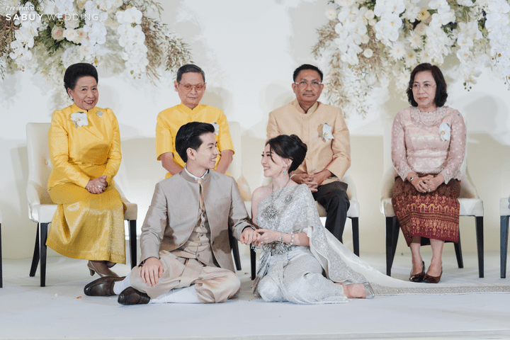 รีวิวงานแต่ง 2 สไตล์ สวยเด่นด้วยดีเทลกล้วยไม้ Phalaenopsis โดย  PaR Wedding Planner @ Siam kempinski Hotel