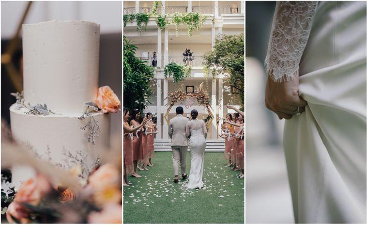 รีวิวงานแต่งแบบ Micro Wedding อบอุ่น โรแมนติก @Bangkok Marriott Hotel The Surawongse
