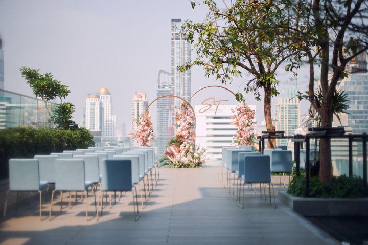Sindhorn Midtown Hotel Bangkok สถานที่แต่งงานไซส์เล็กแต่เก๋ ราคาสบายกระเป๋า