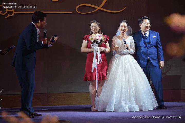 รีวิวงานแต่งอบอวลมวลความสุข จัดงานแบบแขกผู้ใหญ่ประทับใจ @ CDC Crystal Grand Ballroom