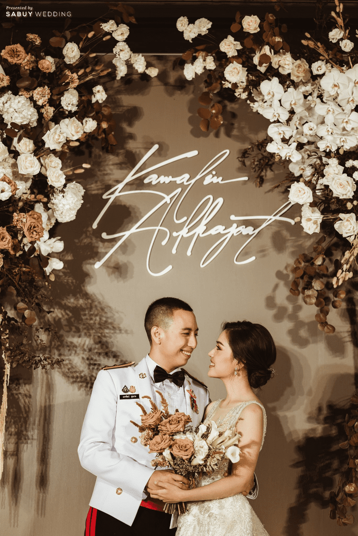 รีวิวงานแต่งสีเอิร์ธโทน สวย Luxury จัดงานดูดีฉบับคนไม่มีเวลา @ The St. Regis Bangkok
