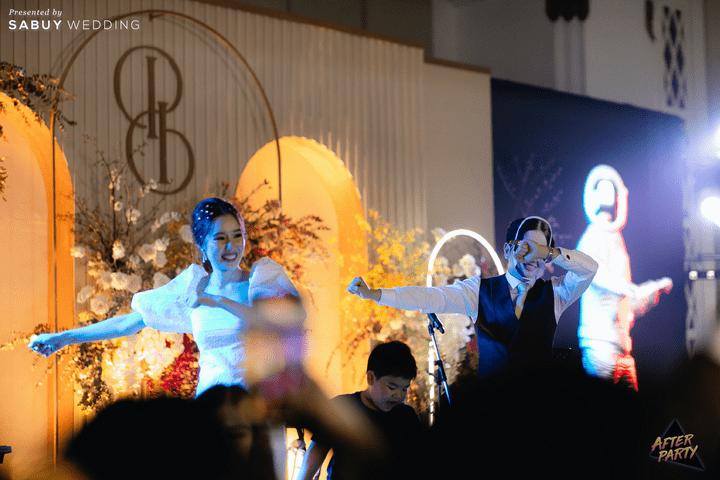 งานแต่งเพิ่มกิมมิคด้วยจอ LED แถมปาร์ตี้สุดมันส์! By AfterParty