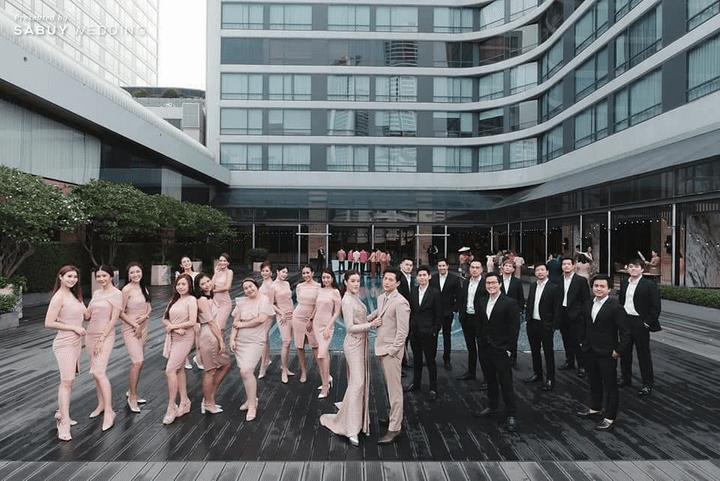 รีวิวงานแต่ง New Normal แพลนไม่สะดุด แถมเตรียมงานแค่ 3 เดือน! @ Bangkok Marriott Marquis Queen's Park
