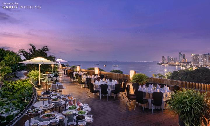 Hilton Pattaya สถานที่แต่งงานสุดประทับใจ พร้อมแพ็กเกจเริ่มต้นเพียง 150,000 บาท แถมฟรี! แพ็กเกจงานหมั้น มูลค่า 24,000 บาท