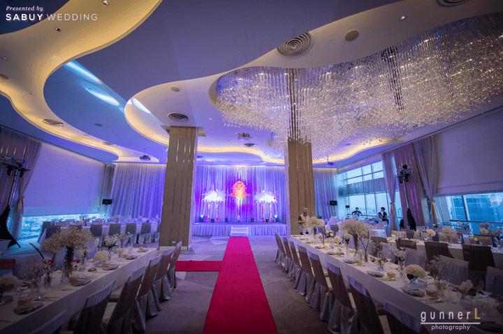 ห้องจัดเลี้ยง พร้อมวิวแม่น้ำเจ้าพระยา แบบพาโนรามา ในราคาเริ่มต้น 290,000 บาท!! @ Pullman Bangkok Hotel G