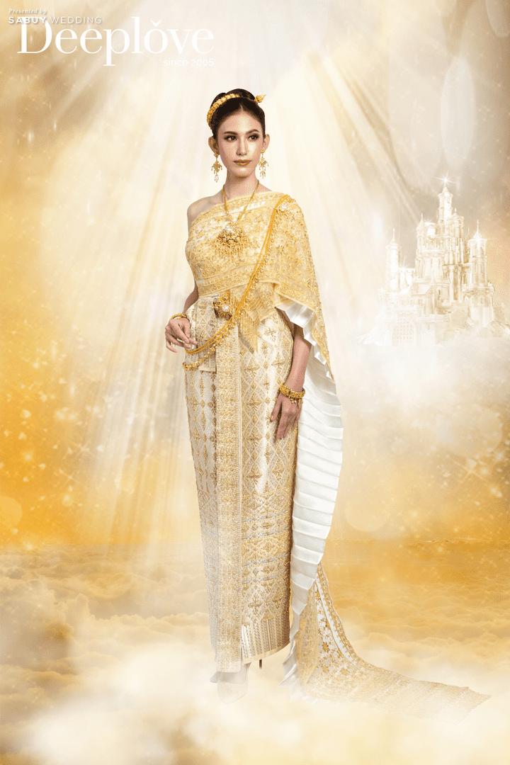 เสริมดวงความปังกับชุดแต่งงานสีสันสดใส Collection ชุดไทยปัญจธาตุ By Deep Love Wedding