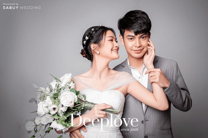 Deep Love Wedding ออกโปร Pre wedding ในสตูดิโอสุดคุ้ม จัดเต็ม 3 ชุด ราคาเพียง 8,900 บาท!