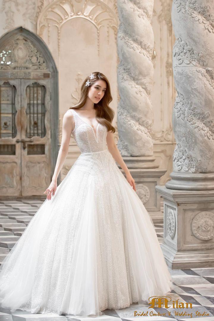 ชุดเจ้าสาวลุคเจ้าหญิงสุดหรู คอลเล็คชั่นใหม่จาก  Milan Bridal Couture & Wedding Studio