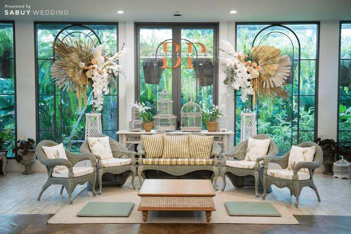 รีวิวงานแต่งสไตล์ Warm & Natural สวยเรียบง่ายได้กลิ่นอายความอบอุ่น @ The Botanical House Bangkok