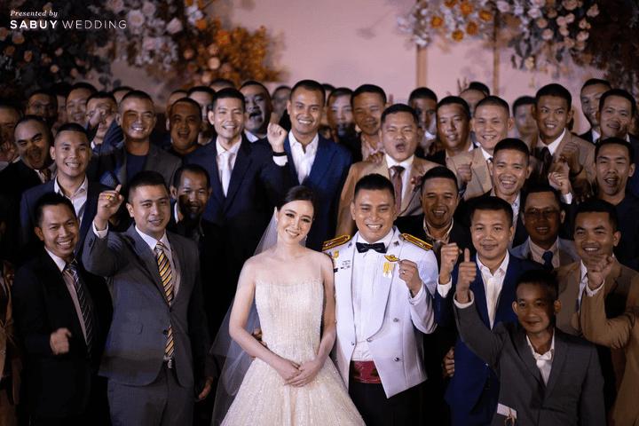 รีวิวงานแต่งข้าราชการตำรวจ พิธีเป๊ะตามระเบียบ เนี้ยบแต่สนุก @ Hyatt Regency Bangkok Sukhumvit
