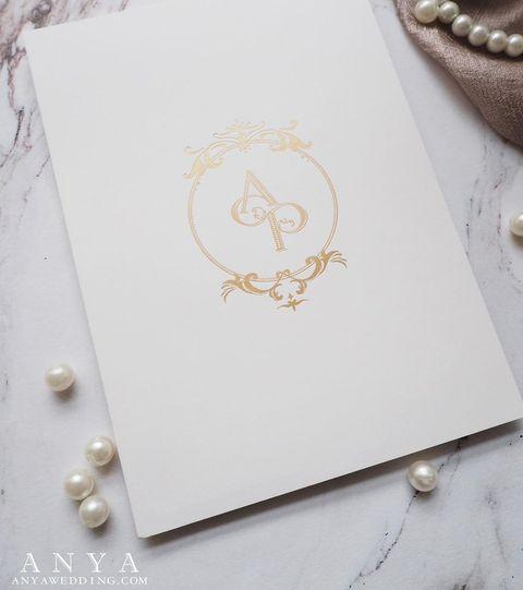 Anya Wedding invitation & Favor