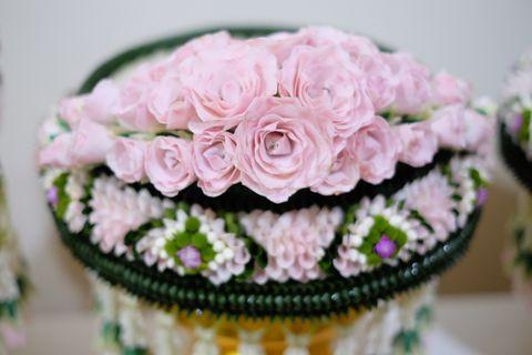 พานขันหมาก Flowers Skill